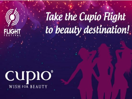 Prinde zborul Cupio la Flight Festival! Noi îți dăm biletele