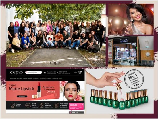 Aproape 8 ani de frumusețe, 15 magazine și peste 120 de angajați. Retrospectiva anului 2019 pentru Cupio