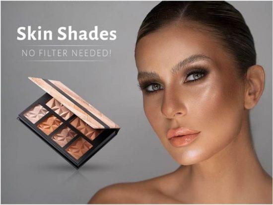 Frumusețe fără filtre. Skin Shades – paleta de contouring care te ajută să-ți sculptezi trăsăturile