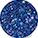 1 x Oja semipermanenta Cupio To Go! Glitter Splash - Crystal Blue  +   0,00lei