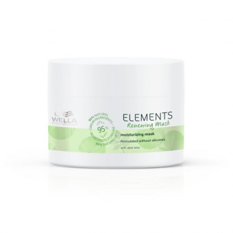 Masca de par regeneratoare Wella Professionals Elements 150 ml
