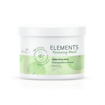 Masca de par regeneratoare Wella Professionals Elements 500 ml