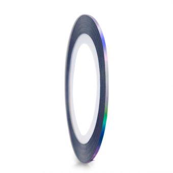 Abtibild banda holografica negru