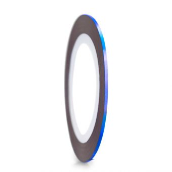 Abtibild banda holografica albastru