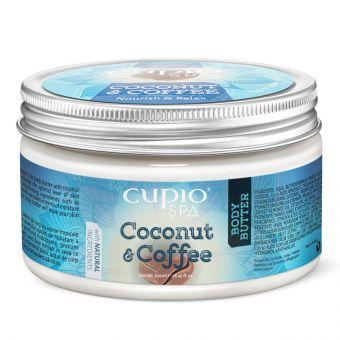 Unt de corp Organic Cupio SPA - Cocos&Cafea 250ml