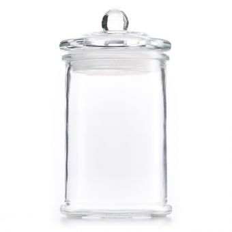 Pahar din sticla pentru dezinfectat Cylinder 300ml