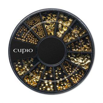 Carusel ornamente metalice Go Gold