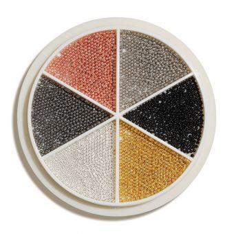 Carusel ornamente perlute 6 colours
