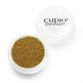Caviar unghii auriu