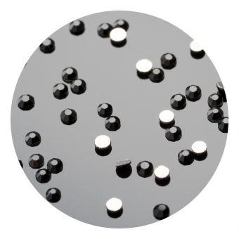 Cristale de unghii pinx. SS4 Black 50 buc