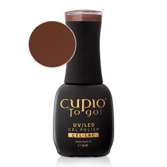 Oja semipermanenta Cupio To Go! Cocoa Glaze 15ml