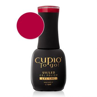 Oja semipermanenta Cupio To Go! Hot Red 15ml