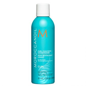 Balsam si sampon Moroccanoil Curl Cleansing pentru par cret 250ml