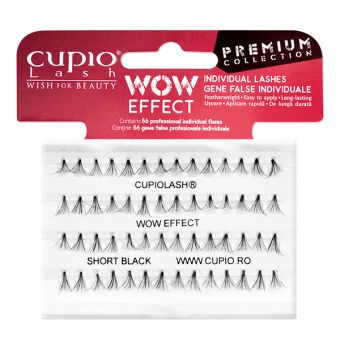 Gene CupioLash WOW Effect Premium - scurte