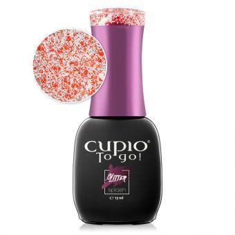 Oja semipermanenta Cupio To Go! Glitter Splash - Sparkle
