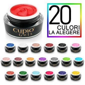 Kit 20 geluri colorate Cupio