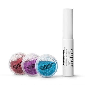 Kit glitter buze Miss Diamond Lips