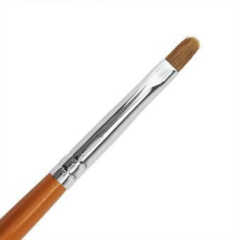 Pensula ovala pt gel din Kolinsky Cupio R4
