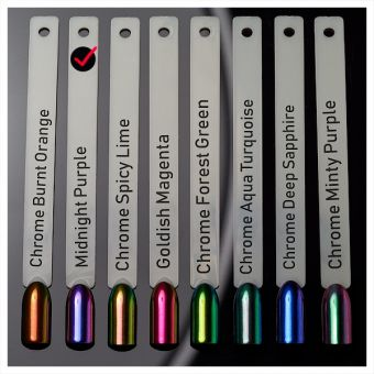 Pigment Chrome Midnight Purple