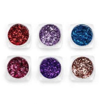 Pigmenti de unghii Flakes set 6 #65