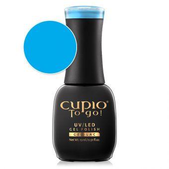 Oja semipermanenta Cupio To Go! Cobalt Blue 15ml