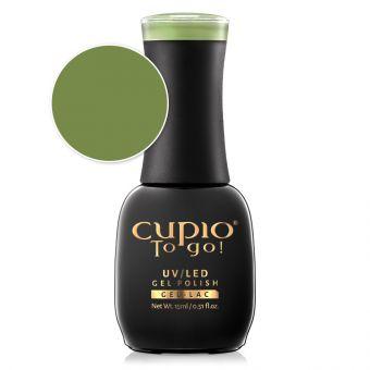 Oja semipermanenta Cupio To Go! Moss Green 15ml