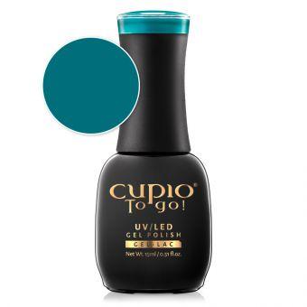 Oja semipermanenta Cupio To Go! Turquoise 15ml