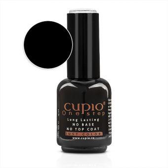 Gel Lac 3 in 1 Cupio One Step Black 15ml - R001