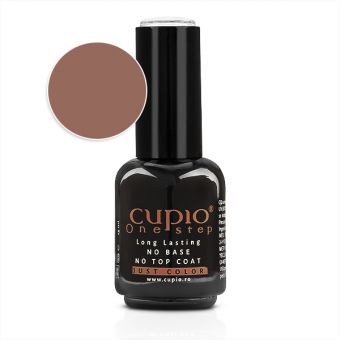 Gel Lac 3 in 1 Cupio One Step Nugat 15ml - R020