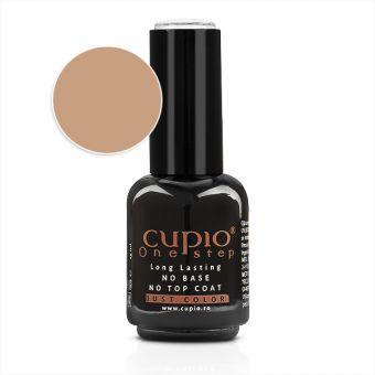 Gel Lac 3 in 1 Cupio One Step Dark Nude 15ml - R098