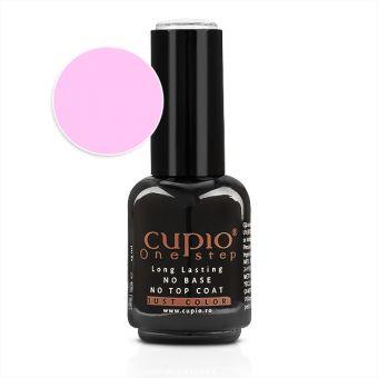 Gel Lac 3 in 1 Cupio One Step French Pink 15ml - R601