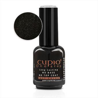 Gel Lac 3 in 1 Cupio One Step Black Star 15ml - R714