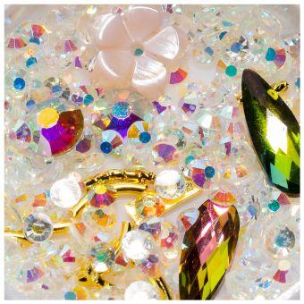 Cristale unghii mix box #08