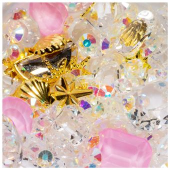 Cristale unghii mix box #10