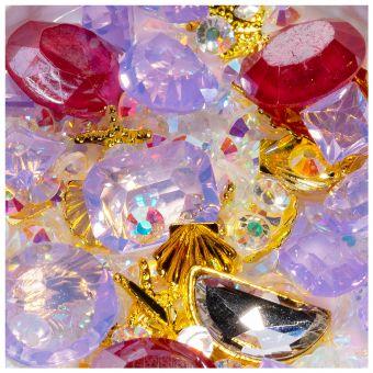 Cristale unghii mix box #03