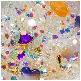 Cristale unghii mix box #07