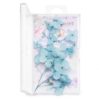 Flori decor de unghii cu cristale #03