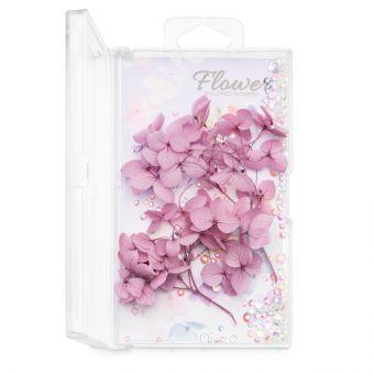 Flori decor de unghii cu cristale #06