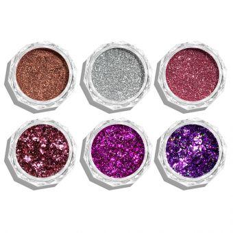 Pigmenti de unghii Flakes set 6 #66