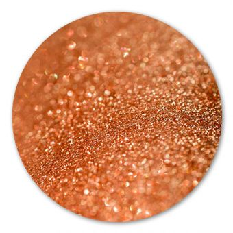 Glitter make-up Shimmer Brown Red