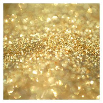 Glitter make-up Crystal Flash Gold