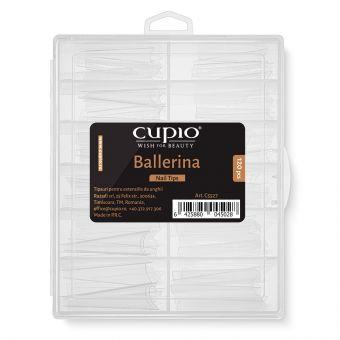 Tipsuri reutilizabile pentru extensii RevoShapes Ballerina set 120 buc