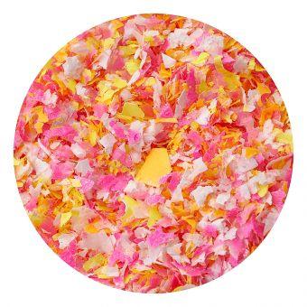 Mix confetti orange
