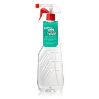 Igienizant de suprafete Sanitell PROFY cu 80% alcool 750 ml