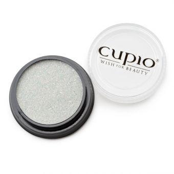 Sclipici fin Premium - Alb gold