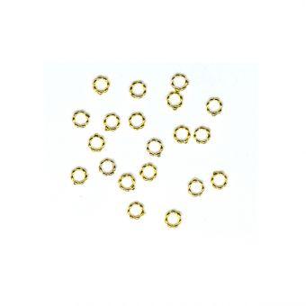 Set cerculete aurii 0.4cm