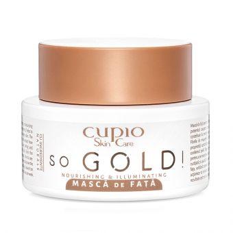 Masca de fata Cupio So Gold!