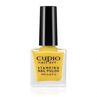 Lac de unghii pentru stampila Cupio Yellow 10ml