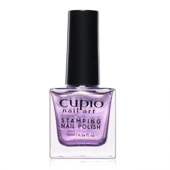 Lac de unghii pentru stampila Cupio Glitter Purple 10ml