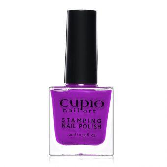 Lac de unghii pentru stampila Cupio Purple 10ml